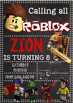 Highlights From Zions Roblox Birthday Party