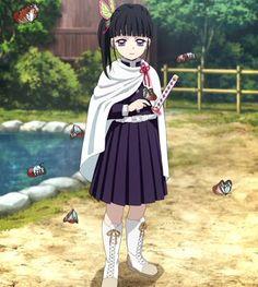Morning💖 Anime: Demon Slayer: Kimetsu no Yaiba Character: Kanao Tsuyuri Ignore Tags [ Fan Art Anime, Anime Love, Demon Slayer, Slayer Anime, Anime Angel, Anime Demon, Anime Summer, Long Black Hair, Chica Anime Manga