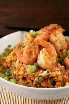 Chinese Style Shrimp Fried Rice!