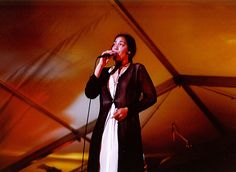 Happy Memories! Enjoying being entertained by the fabulous Musical Goddess, Kate Ceberano at the Fremantle Arts Centre, 29 January 1993.