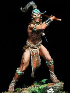 Mayan Warriors | Maya Warrior, 16th Century