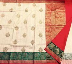 Handloom Yarn Dupion with Silk Mark Certification Kuppadam Pattu Sarees, Dupion Silk Saree, Kalamkari Saree, Kanchipuram Saree, Organza Saree, Silk Organza, Indian Sarees, Saree Sale, Fancy Sarees