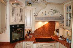 Landhausküche Creme Antik Modell Provence   Küchen-Ideen ...