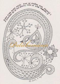 58 Ideas For Crochet Lace Pattern Free Inspiration Bobbin Lace Patterns, Embroidery Patterns, Bobbin Lacemaking, Point Lace, Needle Lace, Lace Making, Crochet Motif, Crochet Lace, Embroidery Techniques