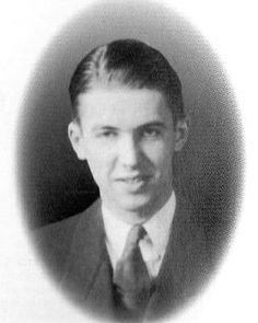 Jimmy Stewart during studying at Mercersburg Academy, late 1920s