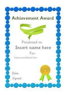 Editable certificate for teachers. #teachingresources
