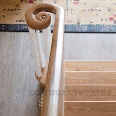Oak Stairs, Door Handles, Doors, Home Decor, Door Knobs, Puertas, Interior Design, Home Interior Design, Home Decoration