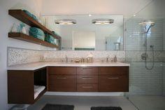 Master Bath - modern - bathroom - other metro - Natalie DiSalvo