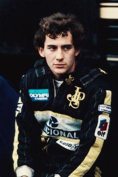 Ayrton Senna at Lotus
