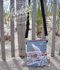 Vinyl Beach Cross Body Bags  Long Beach Island Beach Haven  #craftshow #display #LBI #longbeachisland #lbiismyhappyplace #crossbodybag #nauticalbag  #nautical #hookedonabluelife @shelbster86