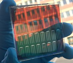 A new perovskite solar cell combines tandem architecture, low cost materials and energy efficient, low cost thin film solar cell manufacturing.