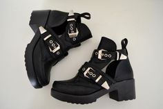 New Shoes, Jeffrey Campbell Coltrane dupe, Tobi, Rebel Scholar Booties