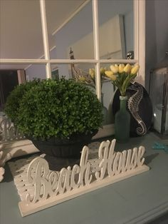 Costal decor- beach cottage