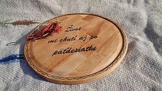Svatava / Okrúhle denko veľké Love And Respect, Wood Crafts, Leather, Handmade, Hand Made, Wood Turning, Craft, Woodwork, Woodworking Projects