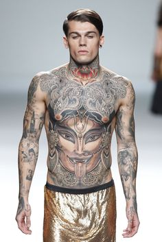 Stephen James..this is how you do tattoos