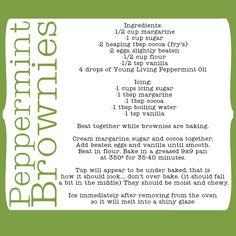 Peppermint Brownies!