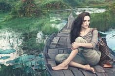 Angelina- the new face of Louis Vuitton- amazing ad campaign