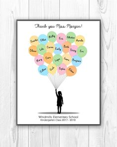 A personal favorite from my Etsy shop https://www.etsy.com/listing/573787398/personalized-teachers-gifts-teacher