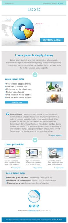 ¡Nuevo template de newsletter gratuito! ideal para tus campañas de email marketing
