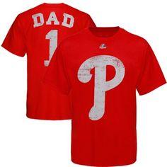 Philadelphia Phillies #1 Dad T-Shirt