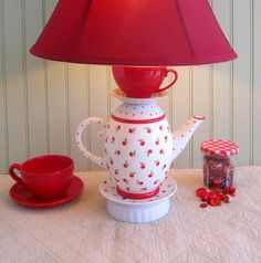 Cute idea with Cherry Teapot <3