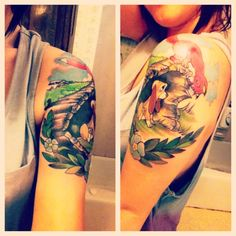 I absolutely love the fox and the hound! 21 Tattoos All Disney Fans Will Fall Absolutely In Love With