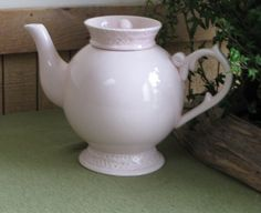 Pink Teapot Tea With Alice Tea Service by LazyYVintage on Etsy
