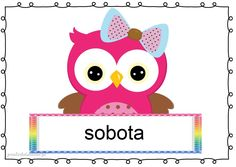 Newborn Room, Borders And Frames, Hand Lettering, Owl, Kawaii, Children, Owls, Early Education, Schools