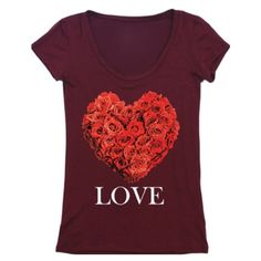 • Valentine Love Tee • Valentine Collection ItemAdorable burgundy graphic tee. Super comfy and stretchy, slimming. Recommend going with your normal size.    95% rayon, 5% spandex   No trades. Price firm. PLEASE DO NOT purchase this listing. Comment below what size you need and I'll make you a listing Jennifer's Chic Boutique Tops Tees - Short Sleeve