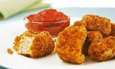 New twist on chicken nuggets!! Phase 1 and 3 approved (and better for baby girl than those store bought ones!)