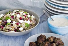 Feta-kvinoa-taboulehsalaatti | Koti ja keittiö