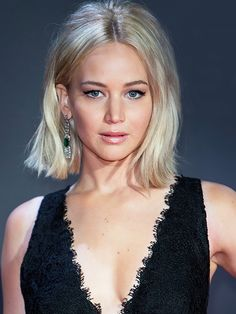 Copy That: A Jennifer Lawrence Hairstyle for Every Day of the Week via…
