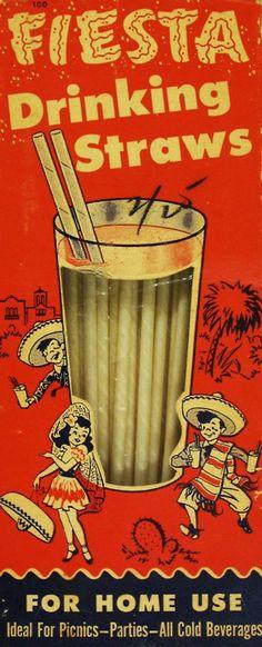 Fiesta drinking straws ad