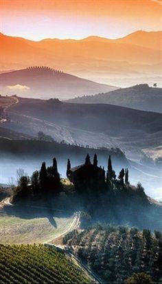Tuscany, Italy! #VisitingItaly