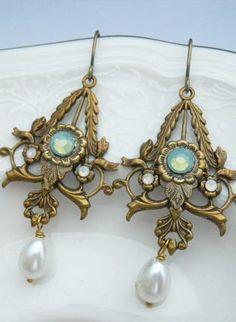 Victorian Earrings.