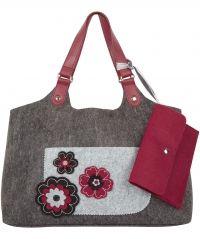 Remarkable Felt Shopper Bag