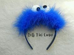 cookie monster hairband