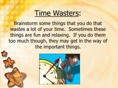 Put First Things First.  Brainstorming a list of time wasters.  This could help students determine why they are not finishing work.