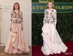 Cate Blanchett In Alexander McQueen – London Evening Standard Theatre Awards