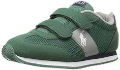 Polo Ralph Lauren Kids Boys' Zuma Ez Sneaker, Dark Green,... http://a.co/7y8pmoa