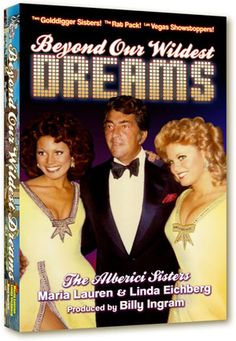 """""""Beyond Our Wildest Dreams"""" This book propels the reader back to the glory days of The Rat Pack, glamorous Las Vegas in the 1970s, and the end of the television variety show era."""