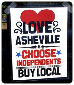 Asheville - Love Asheville Buy Local