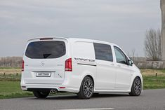 Hartmann have come up with a tuning upgrade for the Mercedes-Benz Vito. Mercedes Vito Camper, Mercedes Benz Vito, Mercedes Cls, Cls 63 Amg, Black Porsche, Van Life, Custom Cars, Division, Spirit