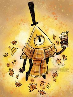 A dorito with his coffee Bill Cipher Gravity Falls Desenhos Gravity Falls, Grabity Falls, Gravity Falls Au, Gravity Falls Bill Cipher, Mabill, Bipper, Reverse Falls, Billdip, Star Vs The Forces Of Evil