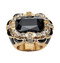 FOREVER selected by Paula Abdul Deco Statement Ring