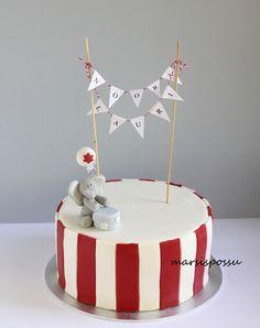 Marsispossu: Karnevaalikakku sisaruksille, Circus cake
