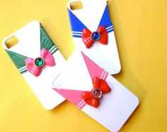 This makes me want an iPhone! Sailor Moon cases!!!!  Drop Dead Cute - Kawaii for Sexy Ladies