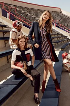 Crowd-pleaser | See what's new for fall in Tommy Magazine and share your look…