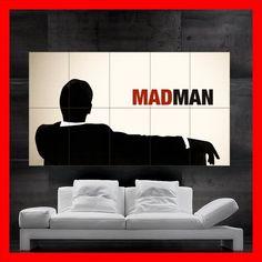 Mad Men Don Draper Jon Hamm Retro Style Huge Giant by StartPosters, $39.45