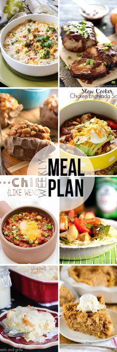 Easy Meal Plan #31 - This is my favorite meal plan series on Pinterest!